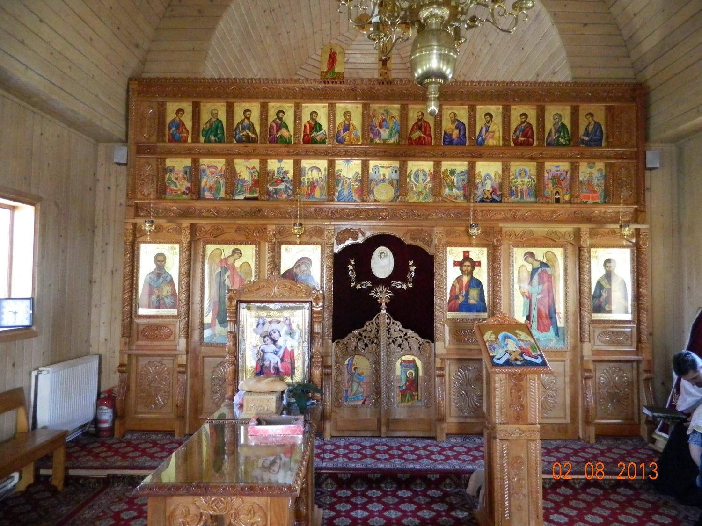 Catapeteasma Bisericii Sfantul Vasile cel Mare