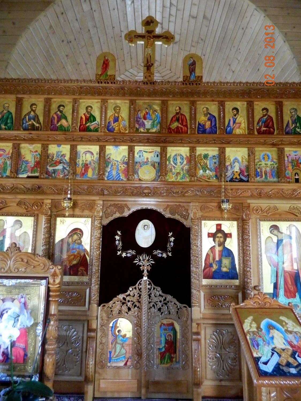 Catapeteasma Bisericii Sfantul Vasile cel Mare-DETALIU
